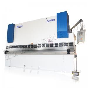 China WC67K Galvanized sheet hydraulic NC automatic sheet metal press brake bending machine with E21 control system on sale