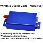 2W 150mhz/433mhz vhf digital vioce transmitter receiver ttl RS232 RS485 uart wireless digital audio modem