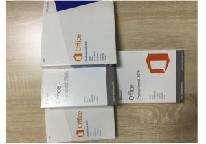 China Microsoft Office 2016 Pro Plus Key OEM 64 Bit Four Laguage Retail Version on sale