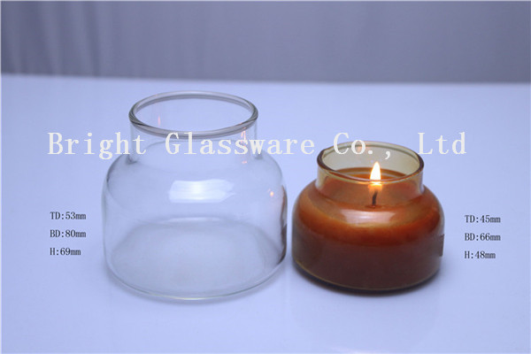 Hot Sale Birthday Candle Glass Holder Crystal Jars Wholesale For