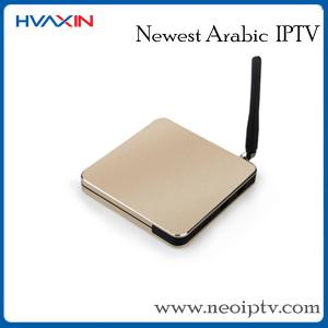China smart tv box arabic iptv set top box android systerm on sale