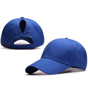 6882908d ... Quality Back Hole sun visor blank caps for promotional items Wholesale  Pony Tail for sale