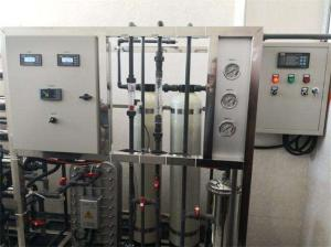 China Automatic 1m³/h 1000LPH Two Stage Reverse Osmosis System on sale
