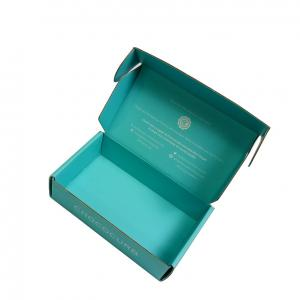 China Foldable Printed Card Boxes , Coloured Corrugated Cardboard Boxes With Logo Printing on sale