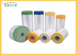 China House Painting Masking Film Plastic Masking Film Polythene Sheeting Protective Film on sale