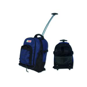 China 600x300D Polyester Kids Sports Duffle Bag / Travel Duffel Bags With Wheels on sale