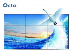 China FHD 46\ LCD Video Wall Ultra Narrow Bezel LCD Wall Display Indoor Advertising on sale