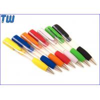 2 IN 1 Plastic Ball Pen Design USB Flash Drive Separately Pen Drive