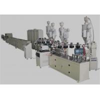 China PEX / AL / PEX Plastic Pipe Extrusion Machine , 20-63mm Composite Pipe Production Line on sale