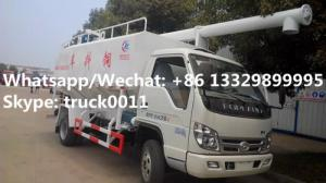 China 2018s new cheapest price forland 4*2 RHD 8m3 animal feed fodder transporting vehicle for sale, poultry feed truck on sale