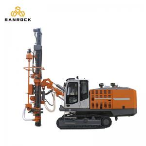 China Dth Surface Blast Hole Drilling Machine Mine Drilling Rig Integrated on sale