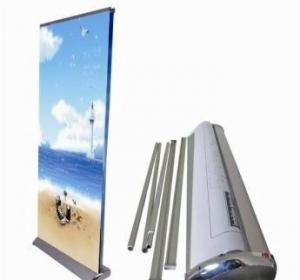 China Exhibition Roll Up Banner Stand on sale