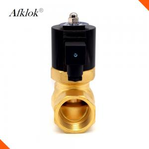 China Electric Steam Control Valve 2 Way , Brass Solenoid Valve For Steam Cleaner on sale