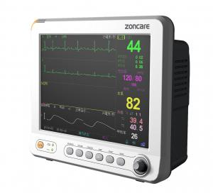 China Portable Etco2 Veterinary Patient Monitor Resistance Electrode Design on sale