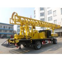 BZCT400SZ/BZT400SZ/BZCT400/BZT400 400m trailer type diesel rotary water well drilling rig