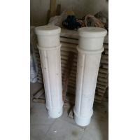 Marble Ionic Column Guangxi White Marble Roman Column China Carrara Marble Doric Column
