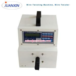 China Automatic wire twister/cable twisting machine/twist multi wires together on sale