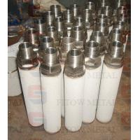 High-temperature alloy powder sintered filter material components quality filter