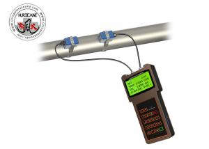 China Handheld Clamp On Ultrasonic Flow Meter for Industrial Water Consumption Measurement on sale
