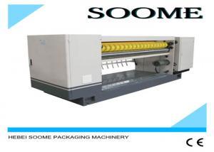 China High Precision Corrugated Board Cutting Machine , Die Cutting Machine For Corrugated Boxes on sale