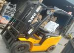 4 Wheel Electric Forklift Truck 1.5 Ton With Curtis Half AC System 48V / 400AH Battery