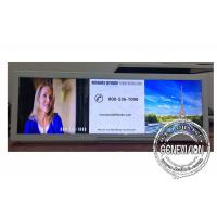 19.2 Inch Ultra Wide Android Stretched Display Screen For Bus / Metro / Train Advertising