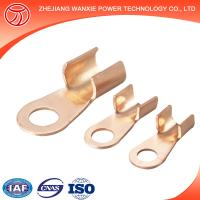 Copper Aluminium Bimetal Cable Lug with two holes on the palm/cable terminal/terminal lug sizes