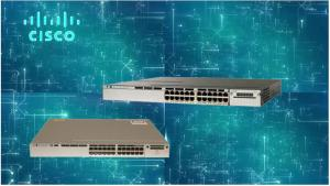 China WS-C3850-24U-L Managed Network Switch For Converged Wired / Wireless Access on sale