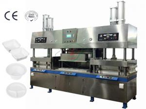 China 400Kw 7000Pcs / H Paper Cup And Plate Making Machine Dry In Mould on sale