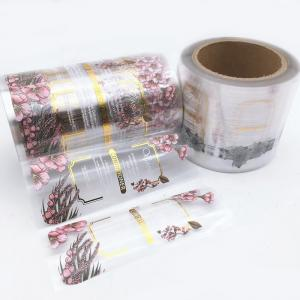 China UV Coating Hot Stamping Printed Adhesive Labels For Bottle on sale