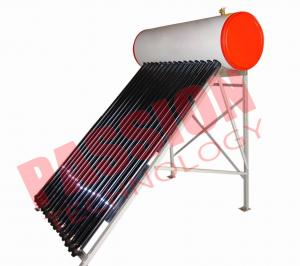 China Flat Roof Thermosiphon Solar Water Heater Copper Pipe Anti Corrosion Material on sale