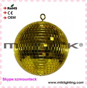 China Cheap Party Stage Decorations Factory Price Handmade Disco Ball Glass Mirror Ball on sale