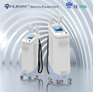 China Nubway professional opt shr laser body hair removal SHR IPL beauty machine on sale