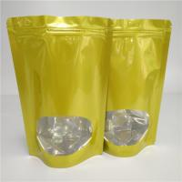 Heat Sealed Dry Food Bags Custom Snack Packaging Aluminum Foil For Tea / Coffee Bean