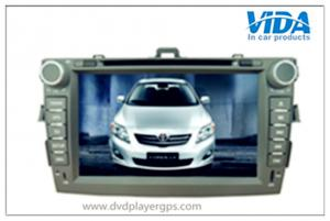 China Special Car DVD Player for Toyota Corolla 8''with HD touch Screen 3G Wifi GPS on sale