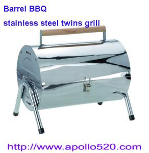 China Barrel BBQ Outdoor Barbecues on sale