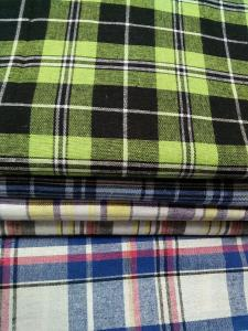 China Yarn dyed check fabric on sale