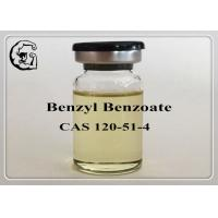 Safe Organic Steriods Solvents Injectable Anabolic Steroids Medical Grade Benzyl Benzoate 120-51-4