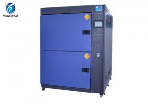 China Electrical Product Thermal Shock Test Chamber 216 L With Cooling Tower on sale