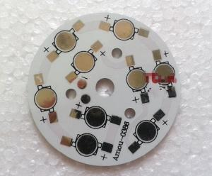 China High power aluminum led light pcb board / metal detector pcb 4 Layer on sale