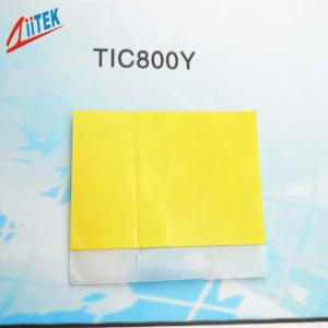 China LED Power Supply Thermal Phase Changing Materials Heatsink Thermal Pad 0.95W/MK on sale