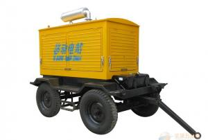 China 181kva / 145kw Quiet Diesel Mobile Power Generator AC Three Phase on sale