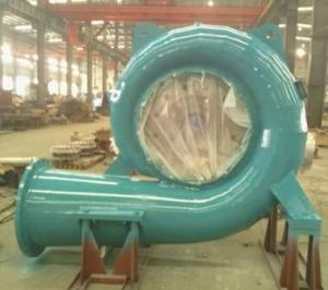 China 470kW Small Water Turbine 60Hz Low Head Hydro Turbines Oil Braking on sale