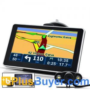 "China 6"" Navegador de GPS de la pantalla táctil con la cámara del Rearview, Bluetooth, transmisor de FM on sale"