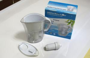 China Purification Alkaline Water Filter Pitcher / Healthy Drink Portable Alkaline Water Purifier on sale