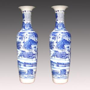 China Top quality nice appearance ceramic vases made in Jingdezhen on sale