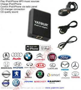 China Yatour Ycarlink iPod MP3 Interface (Alternative to Xcarlink/Dension/GROM) on sale