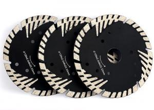 China Triangle Protection Teeth Diamond Stone Saw Blades For Granite Sandstone on sale