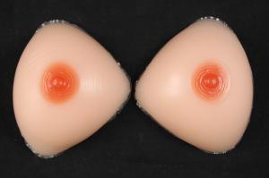 China 100% Silicone Breast Prosthesis Pump Rubber Boobs For Transgender Breast Nipple on sale