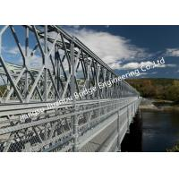 Compact 200 Mabey Military Bailey Bridge , Pontoon Portable Bridge Military with Launching Nose